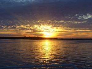 Sunset from <em>Endeavour</em>