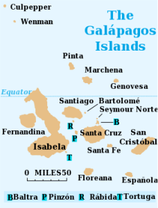 Galápagos Map