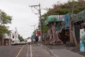 Puerto Ayora Street Scene