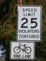 Speed Limit 25 Violators Tortured