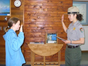 Junior Ranger Ceremony