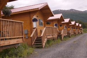 Knik River Lodge cabins