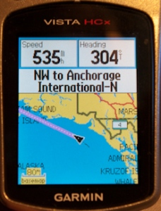 GPS enroute to Alaska
