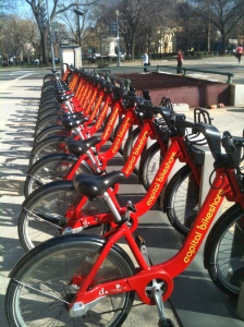 Capital Bikeshare Rack