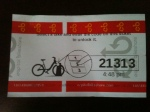 Rental ticket
