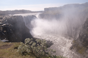 Dettifoss and canyon