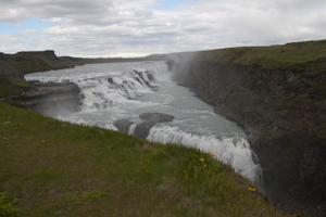 Top section of Gullfoss