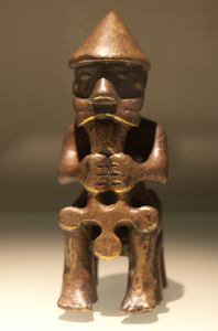 Þór (Thor) or Christ statuette, National Museum