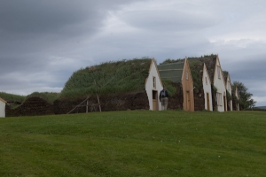 Turf-roofed buildings at Glaumbær