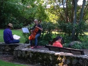 Lithia Park musician