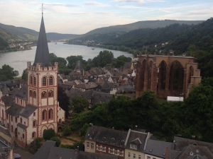 Bacharach and up the Rhine