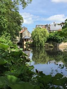 L'Aure passing through Bayeux
