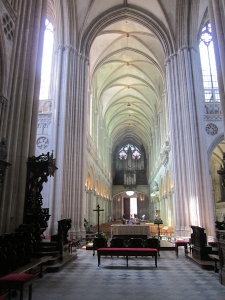 Interior of Bayeux Cathedral