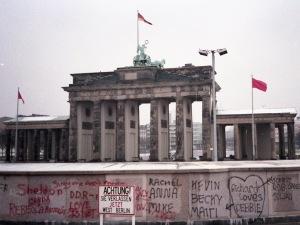 Brandenburg Gate, February 1988
