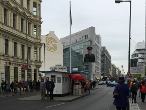 Former Checkpoint Charlie, 2015