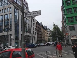 Jim at Charlottenstraße and Zimmerstraße, 2015