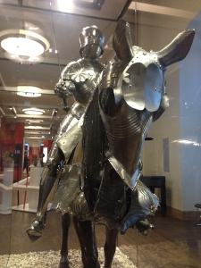 Suit of armor in the German Historical Museum