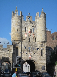 Micklegate Bar, one of the gates to Old York