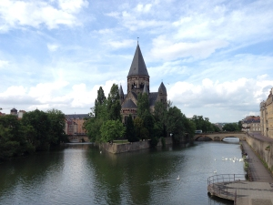 The Moselle River at Metz