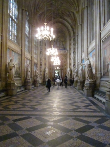 Entrance hall en route to Parliament