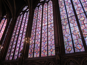 A few of the Sainte Chapelle windows