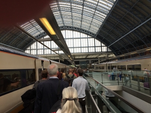 Leaving St. Pancras International